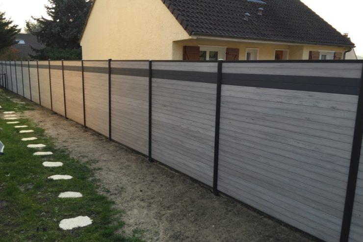 La clôture en composite: la simplicité alliée à l'élégance