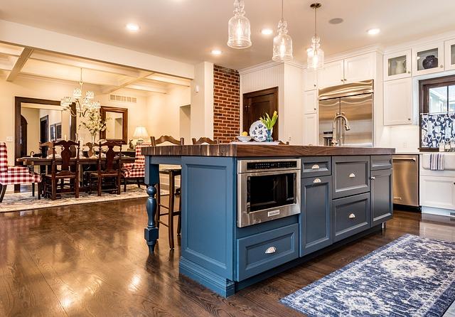 Est-ce qu'une cuisine de 20 m2 peut accueillir un îlot central avec évier?